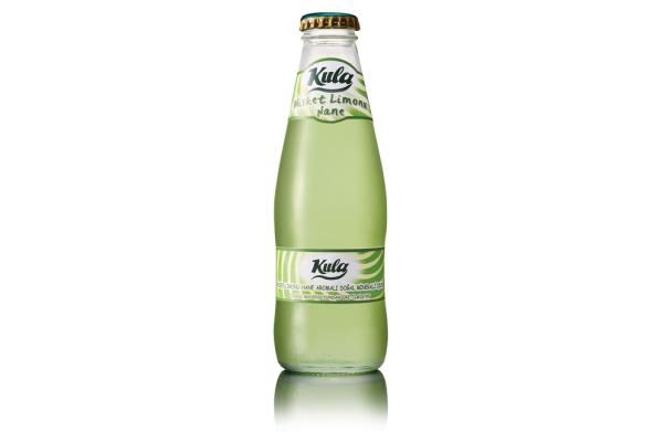 Misket Limonu - Nane 200 mL. Doğal Maden Suyu (Taç Kapak)